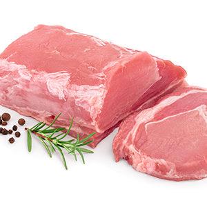Llom fresc de porc de 2 colors