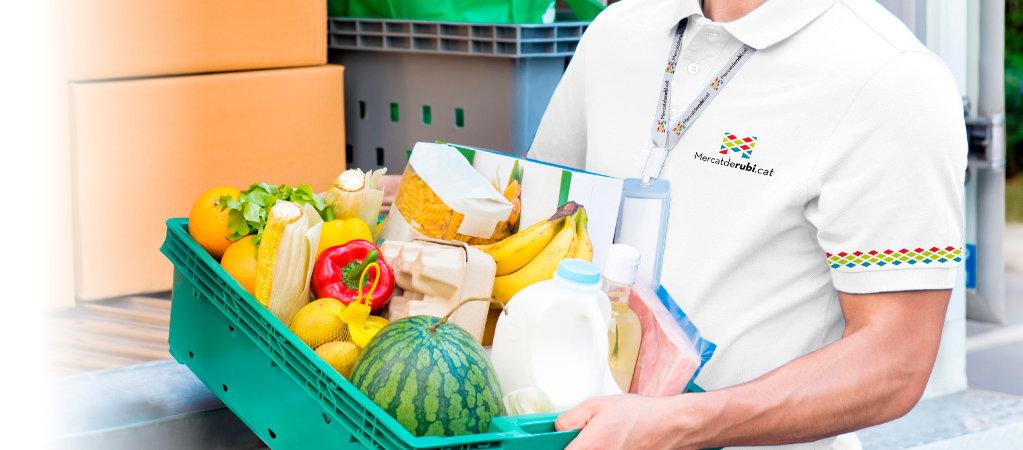 Servei a domicili des del Mercat amb productes de qualitat
