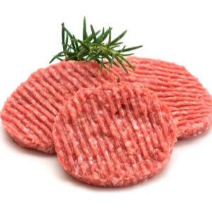Hamburguesa de porc amb all i julivert