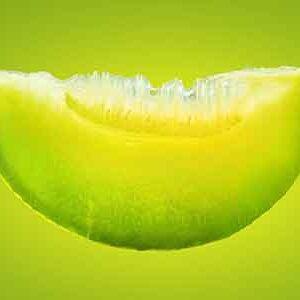 Melon verde confitado
