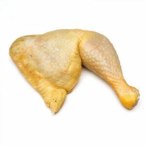 muslo pollo