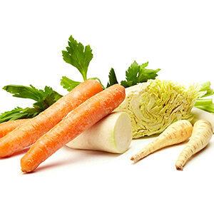 Verduras para caldo